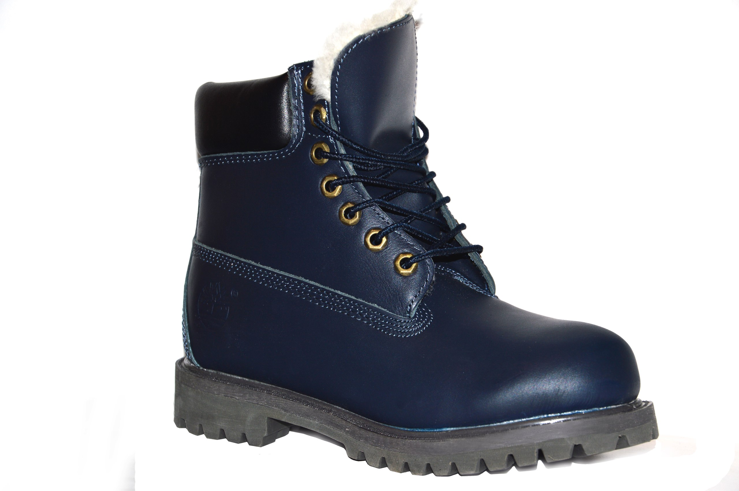 timberland leather blue
