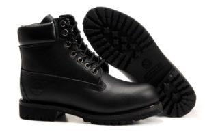 Timberland Classic 6 Premium Waterproof Boot All Black for Men