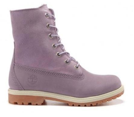 timberland teddy fleece purple
